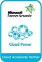 Microsoft クラウドパートナー ロゴ